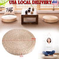 12/'/' Straw Floor Seat Cushion,Hand Woven Tatami Meditation Pillow Seating
