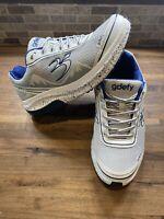 Men's Gravity Defyer GDEFY Mighty Walk Shoes White/Silver Size 9