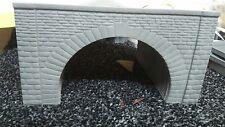 oo gauge - Resin Stone double tunnel Portal X 1  - Suit Hornby Bachmann OO Gauge
