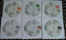 6 CDG DISCS KARAOKE KURRENTS (WHITE COVERS) LADY GAGA,KATY PERRY *2016 SALE*
