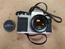 Pentax Asahi S1a 35mm SLR Film Camera + Super - Takumar 1 : 2 / 55