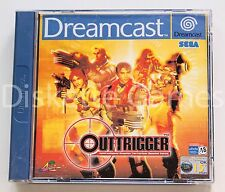 OUTTRIGGER - SEGA DREAMCAST DC DREAM CAST - PAL ESPAÑA - OUT TRIGGER