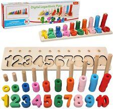 Felly Giochi Bambini 1 2 3 Anni, Giocattoli Educativi Montessori da Puzzle...