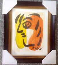 Peter Keil - Signed & Framed Original Painting - Face 2  - Listed Art