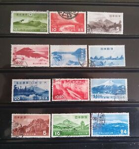 Japan 1930's-50's National Park Collection (Used)