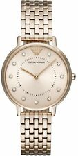 Emporio Armani AR11062 Women's Watch Rose Gold 32mm Stainless Steel