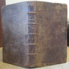 VELLEIUS PATERCULUS HISTORIA ROMANA JUSTE LIPSE 1714 BARBOU HISTOIRE ROMAINE