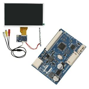 AV Driver Module Controller Board 50-Pin 2-Channel for LCD Screen 800x480