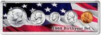 Birth Year Coin Gift Set, 1969