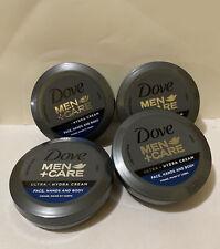 4 Pack Dove Men+Care Ultra Hydra Hydrating Cream Moisturizer