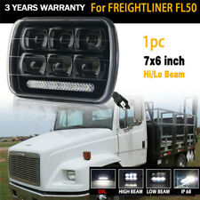 "5x7"" 7x6'' Rectangle LED Headlight Sealed Beam  For Freightliner FL50 60 70"