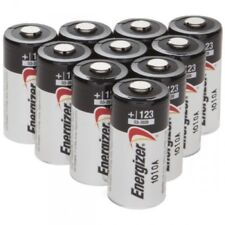 Energizer Lithium 3V CR123A EL123AP 123 123A Batteries Made in USA - Pack of 12