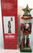 "Kurt Adler Nutcracker Tall Large Advent Countdown 18"" Hollywood Christmas HA0283"