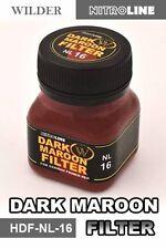 Wilder NL-16 - Nitroline: Dark Maroon Filter 50ml Bottle