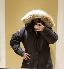 "2019 LATEST ""GREY LABEL"" EDITION BLACK CANADA GOOSE LANGFORD XXL PARKA JACKET"