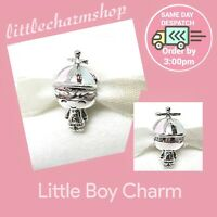 New Authentic Genuine PANDORA Sterling Silver Little Boy Charm - 798015ENMX