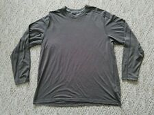 Euc Exofficio Men'S Long Sleeve Crewneck Shirt Baselayer Color Brown Size Xl