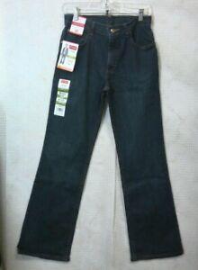 Wrangler Dark Wash Boot Fit Jeans w/ Adjust to Fit Waist (Boy's Size 16)