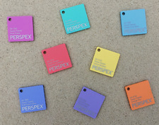 Sweet Coloured Perspex Acrylic Sheets Cut to Size Plastic Panels 3mm Gloss/Matt