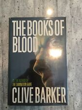 THE BOOKS OF BLOOD I - III ~ CLIVE BARKER ~ FIRST ED / FIRST PRINT ~ SIGNED