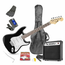 Max GigKit 6-String Electric Guitar - Black