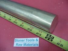 """2-1/2"""" C360 BRASS ROUND ROD 24"""" long Solid 2.50"""" OD x 1 foot H02 Lathe Bar Stock"""