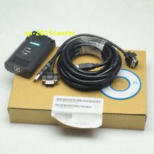 For Win7 Cable Siemens S7 200/300/400 6ES7 972-0CB20-0XA0 USB-MPI+ PC PPI #SP62