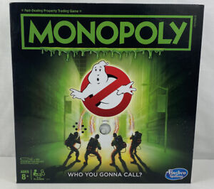 Monopoly Ghostbusters Hasbro Edition Board Game NEW