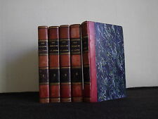 LES MILLE ET UN JOURS - CONTES ORIENTAUX - 5 VOLUMES - 1826 -  10 GRAVURES