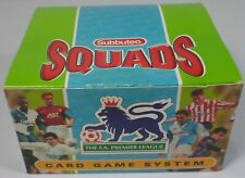 HASBRO VTG 1996 SUBBUTEO SQUADS CARD GAME SYSTEM 30 x BOOSTER PACKS w/ BOX