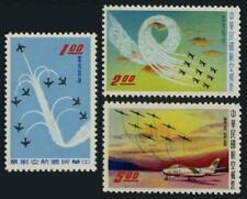 Taiwan C70-C72,MNH.Michel 352-354. Air Post 1960.Plane formations