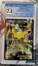 Pikachu EX XY124 Black Star Promo Full Art Pokemon CGC 7.5