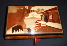 18 Note Sorrentino Wood Inlay Music Box