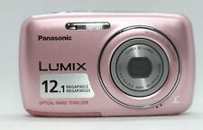 Panasonic LUMIX DMC-S1 12.1 MP Digital Camera - Light pink