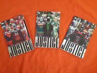 Alex Ross Justice, Vol. 1-3 Comic Book Batman Joker Superman (Lot#311)