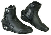 ProFirst Motorbike Motorcycle Real Leather Waterproof Protection Boots Shoes NEW