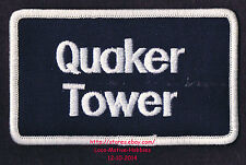 LMH PATCH Badge QUAKER TOWER Skyscraper 321 North Clark RIVERFRONT PLAZA Chicago