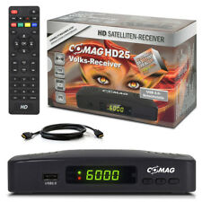 HDTV HD Digital SAT Receiver COMAG HD25 +HDMI Kabel HD 25 DVB-S2 USB ► PVR Ready