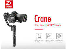 zhiyun Crane 3 axis Handheld Stabilizer gimbal for DSLR Canon SONY A7 Load 1.8kg