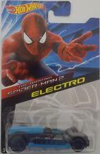 Hotwheels ~ El Asombroso Hombre Araña 2 ~ Electro fundido a presión Automóvil de vehículos