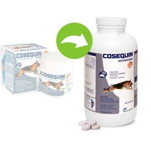 Cosequin Advanced HA + MSM Condroprotector perros (40, 120 y 250 comprimidos)