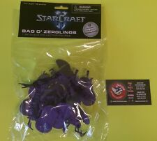 Starcraft II Bag O Zerglings 1 32 Scale Collector of Army Men Figures Brand New