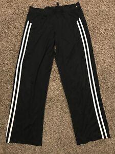 Champion Womens Size Small Polyester Pants Black & White A33