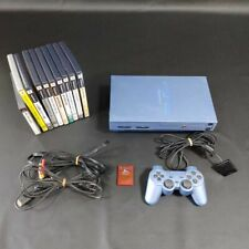 Sony Station 2 PS2 main unit  cable 3terminals 10 cassettes included software
