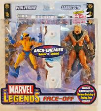 Toybiz Marvel Legends Face-Off Wolverine vs Sabretooth, Open Mouth Variant