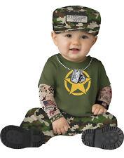 Sergeant Duty Boys Infant Military Army Halloween Costume