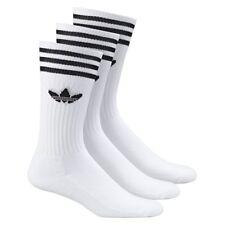 Calcetines adidas – Solid Crew blanco