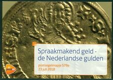 NEDERLAND: PZM 579A/B SPRAAKMAKEND GELD; DE NEDERLANDSE GULDEN.