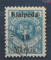 Memelgebiet 129I fehlender Memelaufdruck gestempelt 1922 Klaipeda (7895673