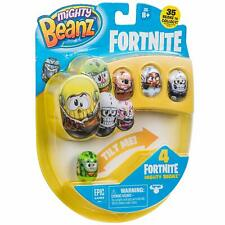 Chtk4 66603 Mighty Beanz Fortnite 4 Pack-styles May Vary Multi